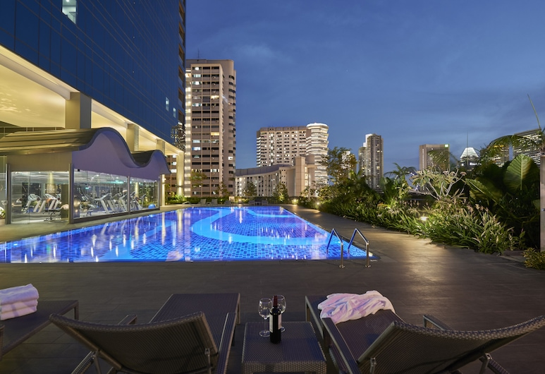 Hotel Boss, Singapore, Outdoor Pool