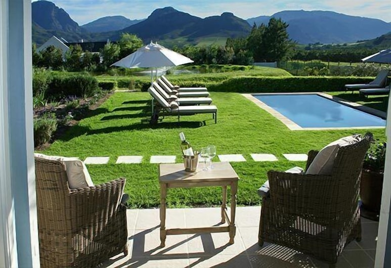 La Cabrière Country House, Franschhoek, Outdoor Pool