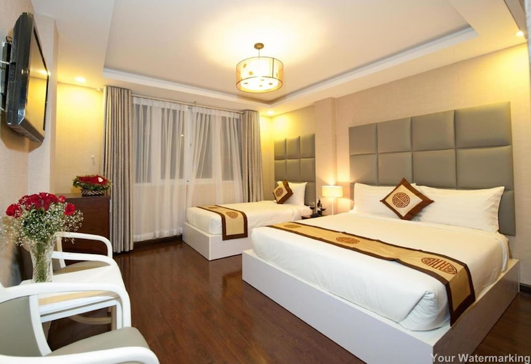 ACE Hotel, Ho Chi Minh City, Deluxe Double Room, Guest Room