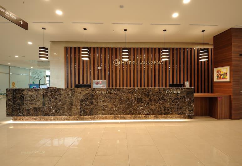 HOTEL LAONZENA, Daegu, Resepsiyon
