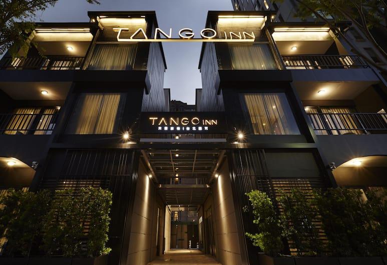 天雲旅棧 - 台北基河, 台北市, 飯店入口 - 夜景