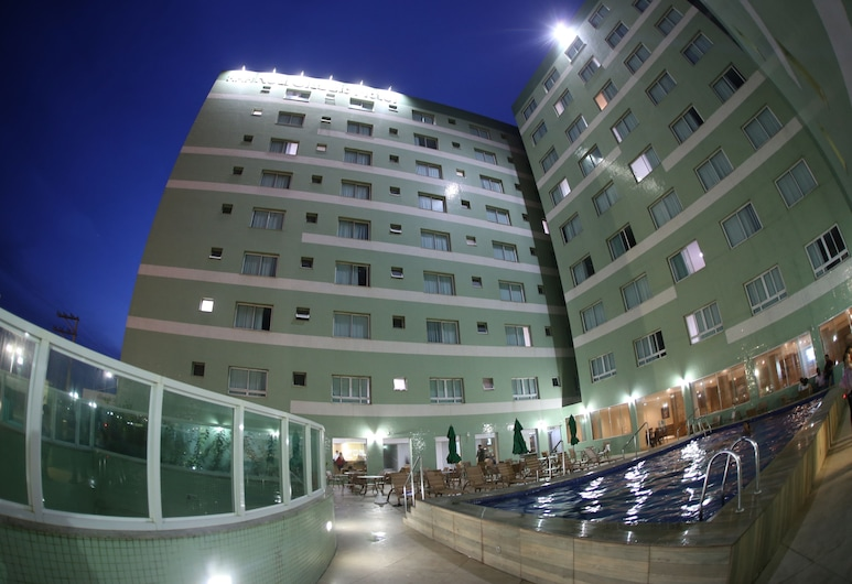 Real Classic Bahia Hotel, Salvador, Hotel Front – Evening/Night