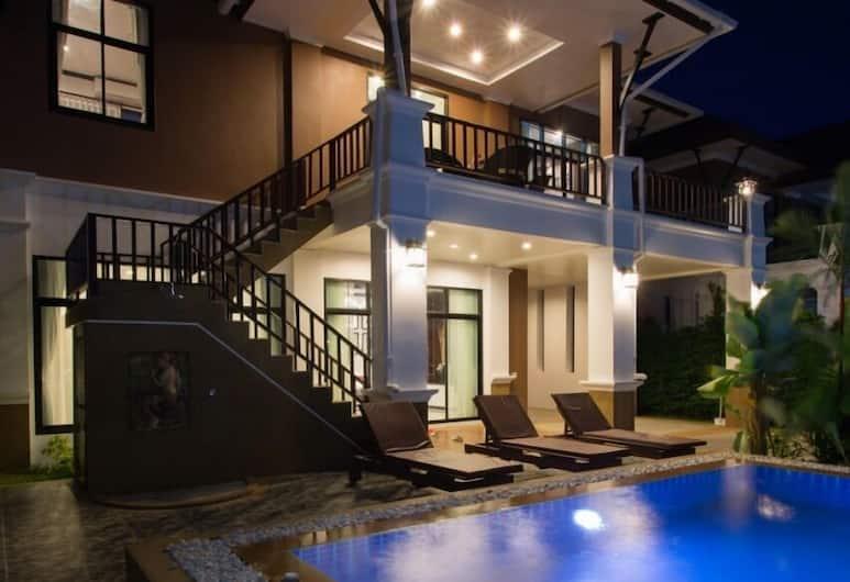 The Unique Krabi Private Pool Villa, Krabi, Villa, Terras