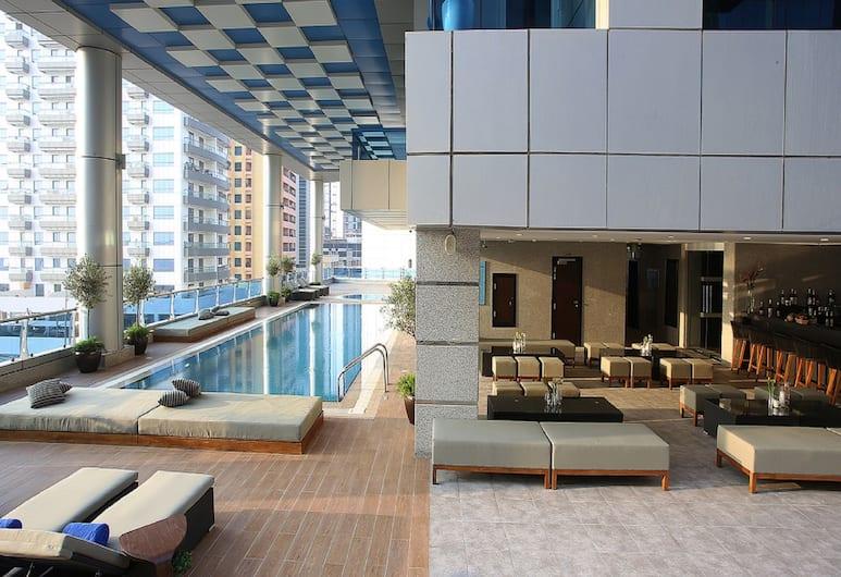 Auris Inn Al Muhanna Hotel, Дубай, Открытый бассейн