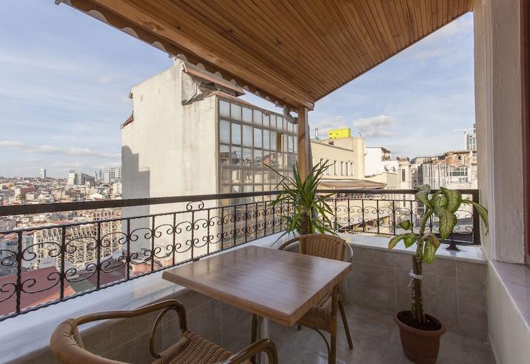 Asya World Hotel, İstanbul, Panoramic Süit, 1 Yatak Odası, Balkon, Şehir Manzaralı, Teras/Veranda