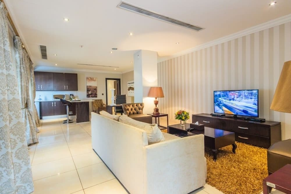 Presidential Penthouse, Kitchenette - Living Area