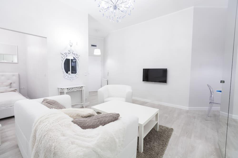 Appartement Design, 1 chambre - Salle de séjour