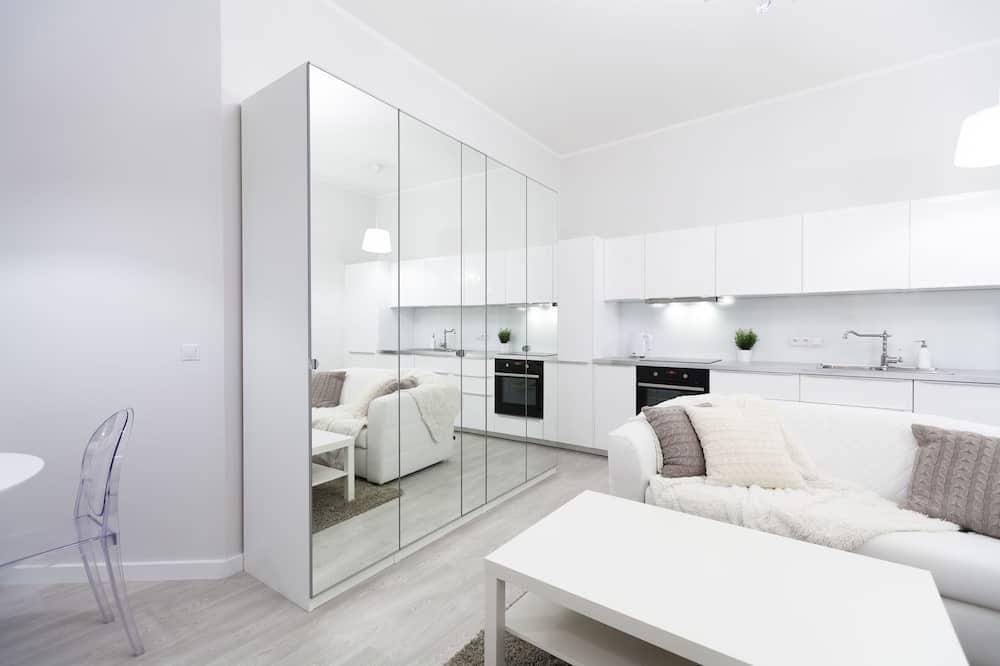 Appartement Design, 1 chambre - Coin séjour