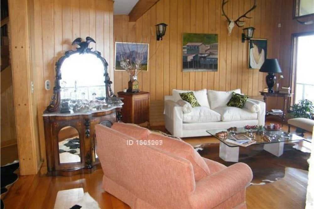 Maison Supérieure, 4 chambres, vue lagon - Coin séjour