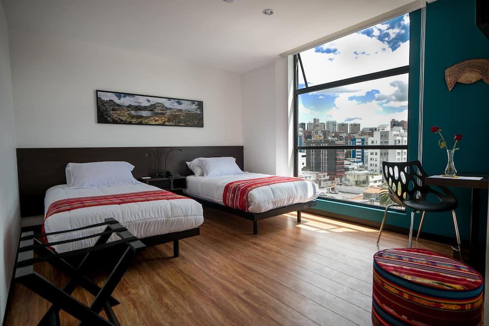 標準雙人或雙床房, 1 間臥室, 城市景 - 城市景觀