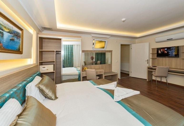 Le Premier House, İstanbul, Deluxe Apart Daire, Jakuzi, Oda