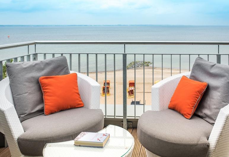 Strandhotel Luv, Timmendorfer Strand, Comfort-Suite, Balkon