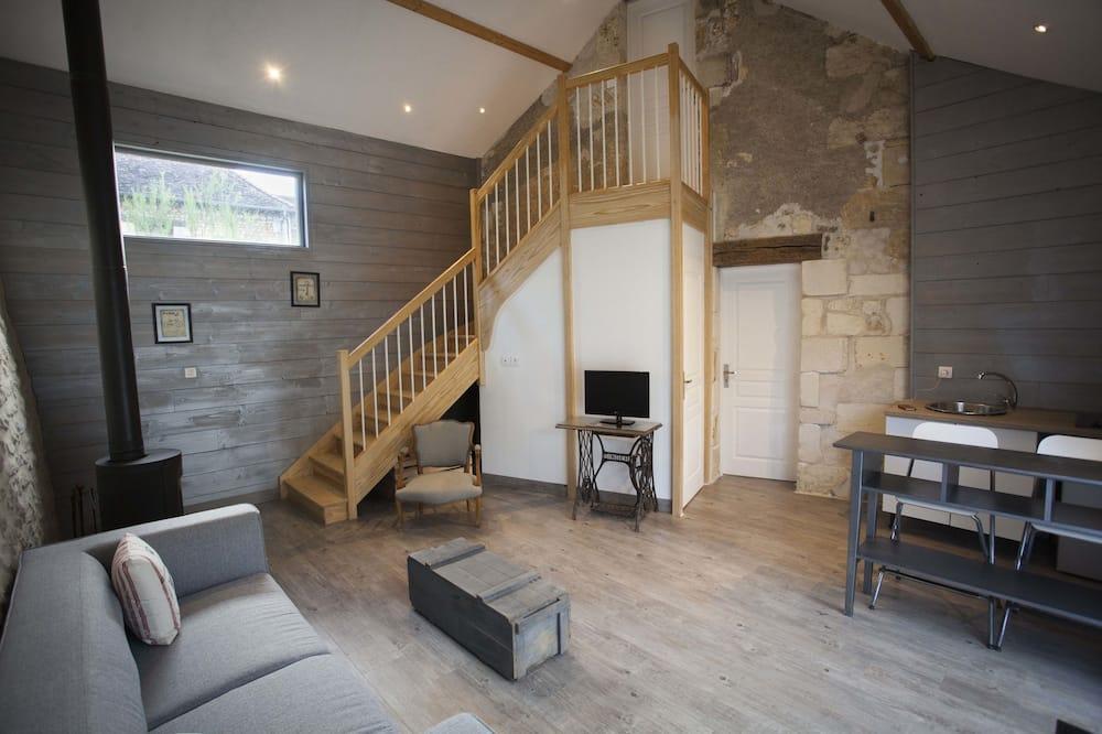 Premium-Suite, Whirlpool - Wohnzimmer
