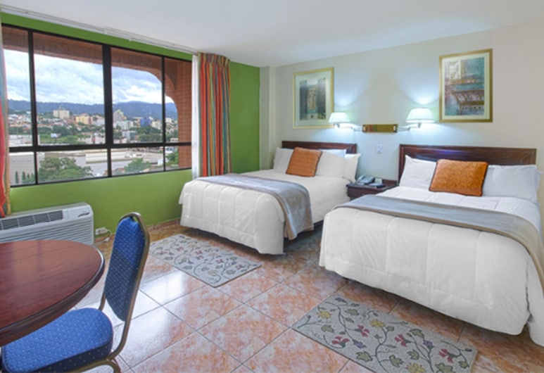 Florencia Plaza Hotel, Tegucigalpa, Standard Double Room Single Use, Accessible, City View, Guest Room