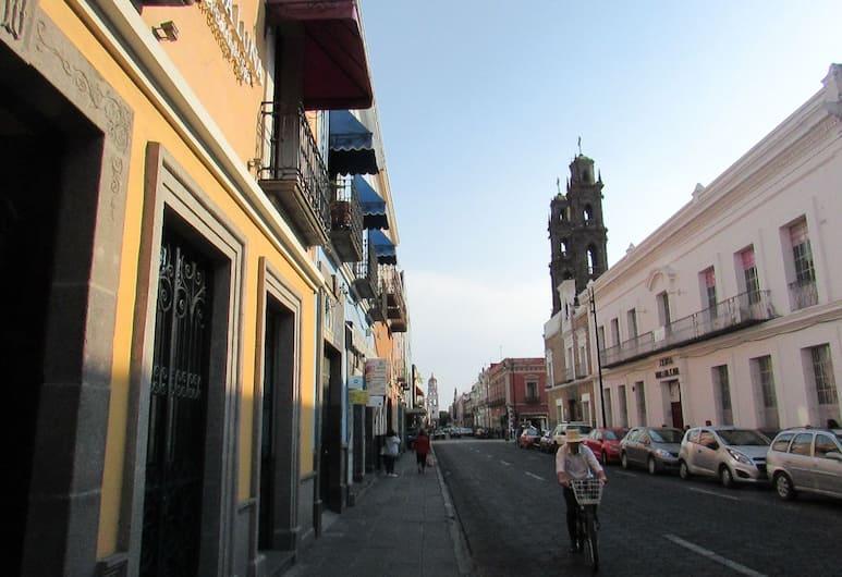 Nueva Luna, Puebla, Uitzicht vanaf hotel