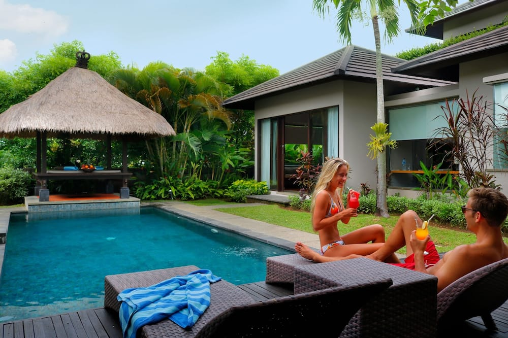 Вілла, 2 спальні, приватний басейн (Bedroom Side by Side) - З видом на сад