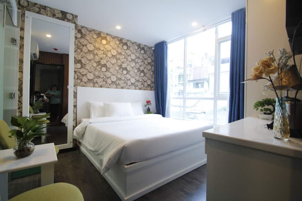Dvojlôžková izba typu Deluxe - Výhľad z hosťovskej izby
