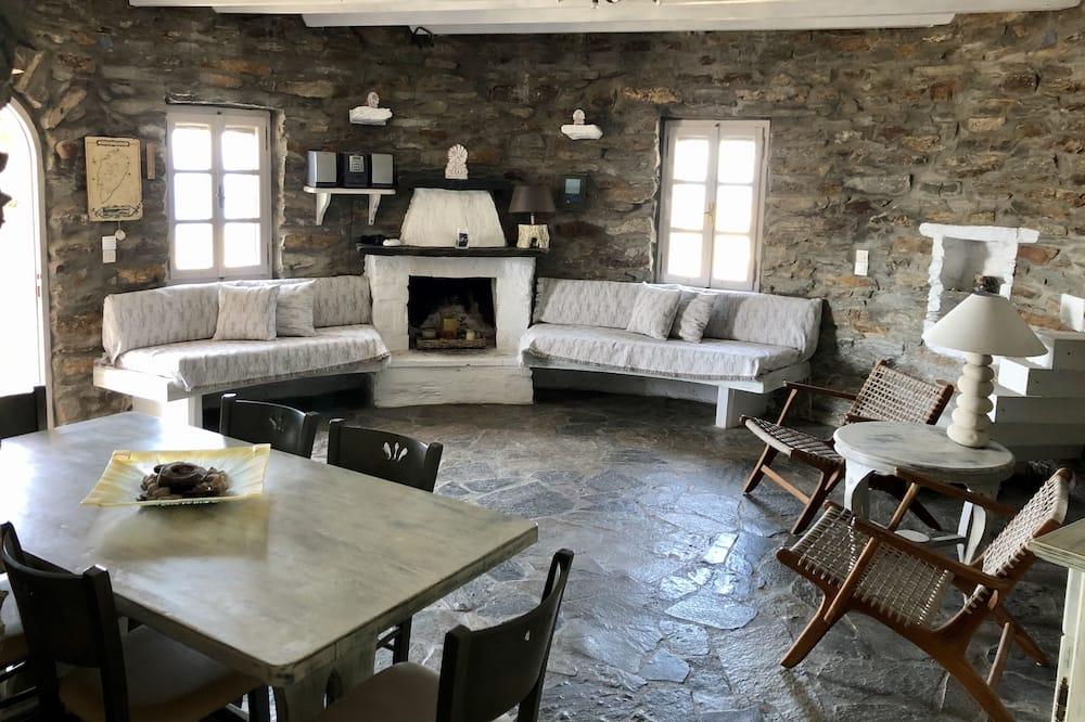Villa, 3 chambres, vue mer - Coin séjour