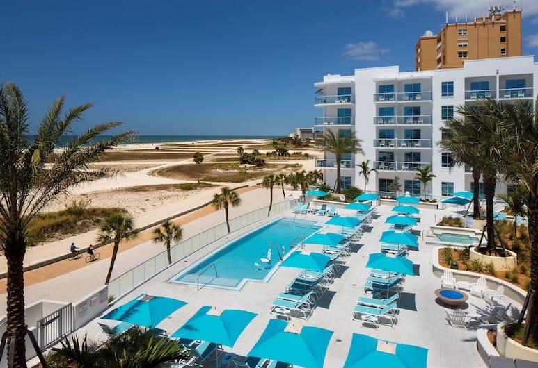Treasure Island Beach Resort, Isola del Tesoro, Piscina all'aperto