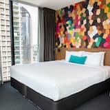 Улучшенный номер, 1 двуспальная кровать «Кинг-сайз», вид на город - Вид на город