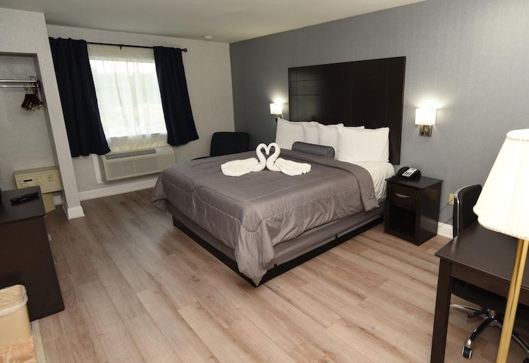 大西洋城費爾布里吉酒店, 加洛威, 豪華客房, 1 張特大雙人床, 非吸煙房, 按摩浴缸, 客房