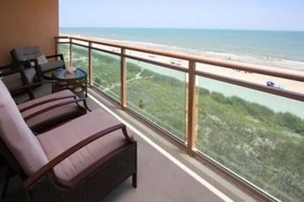 Кондо, 3 спальні, на узбережжі океану (1 King bed 2 Queens 2 singles) - Балкон