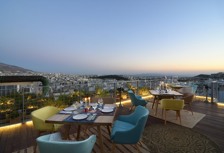 COCO-MAT Hotel Athens, Athènes, Terrasse/Patio