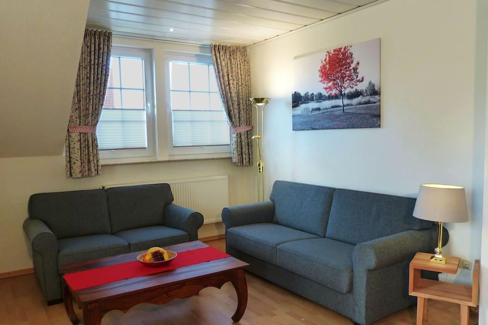 شقة - غرفتا نوم - تجهيزات لذوي الاحتياجات الخاصة - بمطبخ - غرفة معيشة