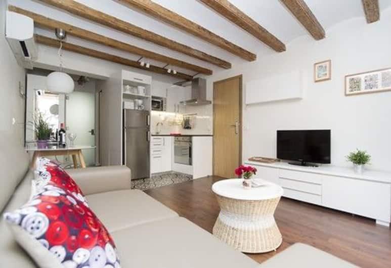 Apartments SFamilia Barcelona, Barcelona, Apartment, 1 Schlafzimmer, Wohnbereich
