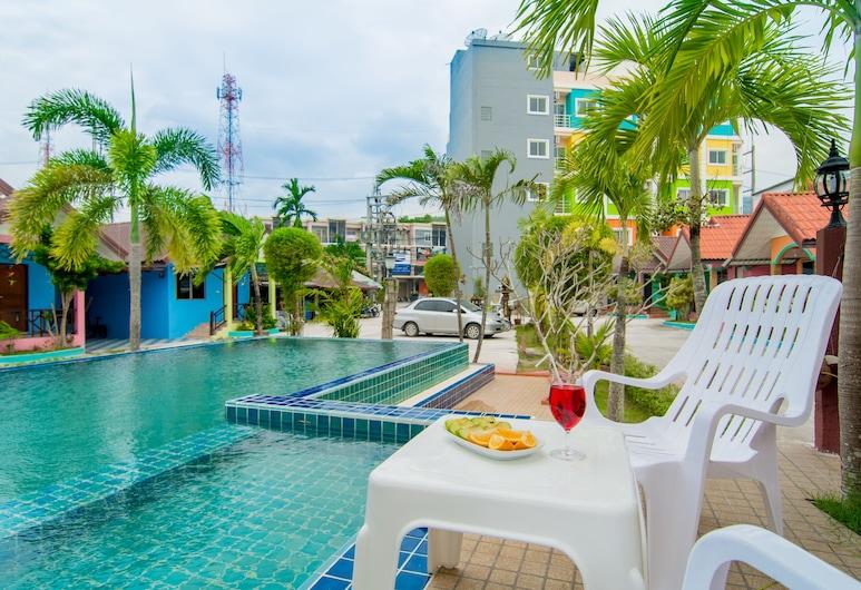Phaithong Sotel Resort, Chalong, Außenpool