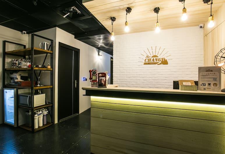 Re-Change Hotel Taipei, Taipei, Recepcja