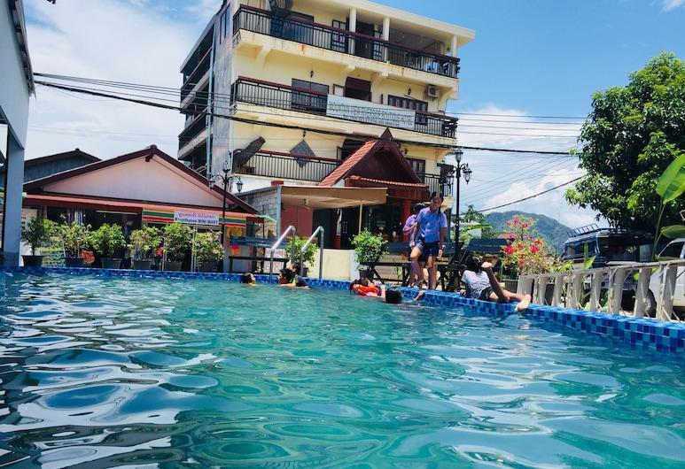 Mountain View Riverside Boutique Hotel, Vang Vieng, Lauko baseinas