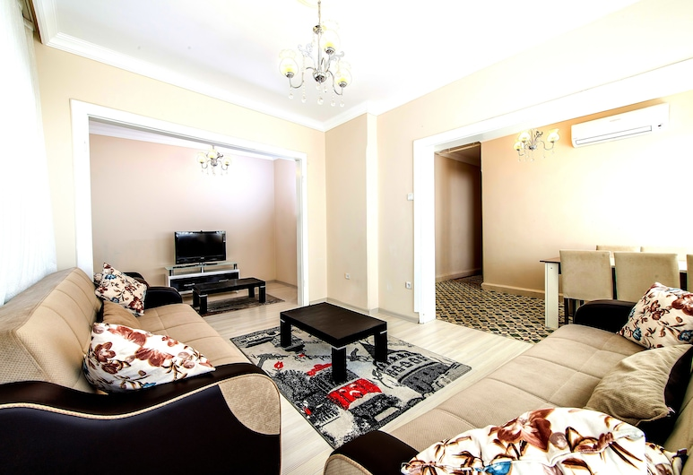 Efe Apart Hotel, Istanbul, Căn hộ Deluxe, Phòng khách