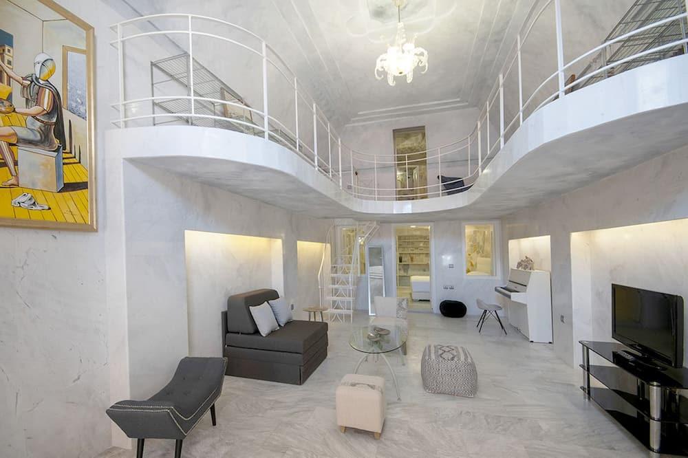Duplex – luxury (Cave) - Oppholdsområde