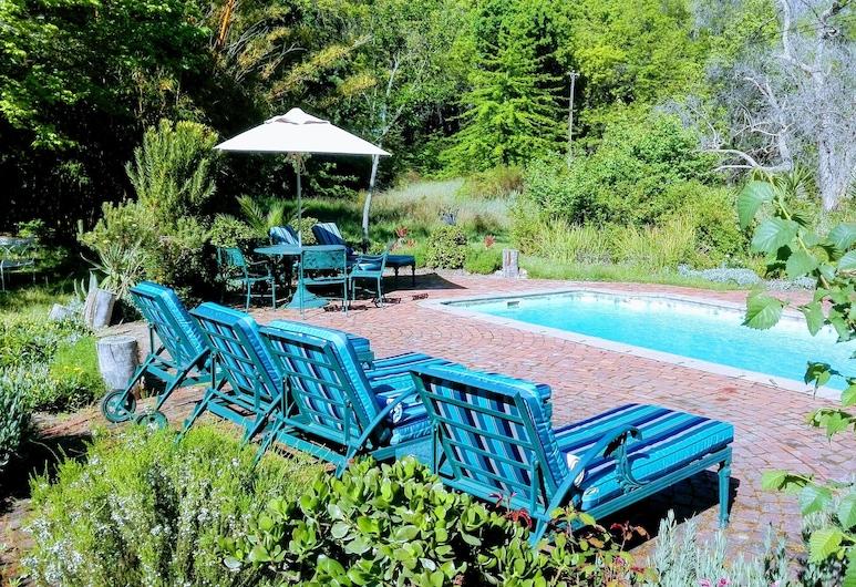 Lekkerwijn Historic Country Guest House, Franschhoek, Vonkajší bazén