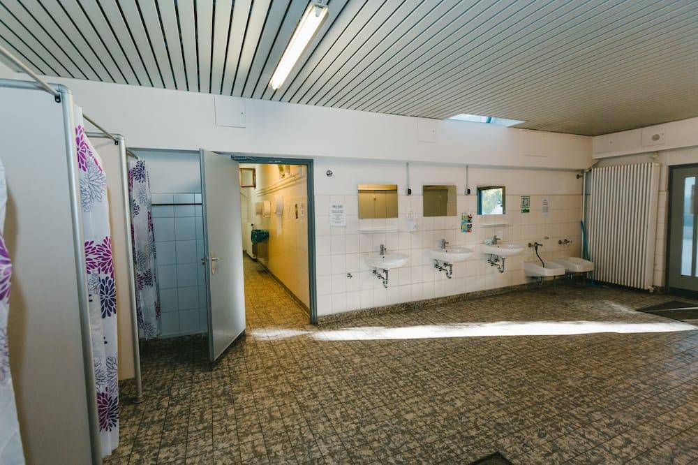Стандартная палатка - Удобства в ванной комнате