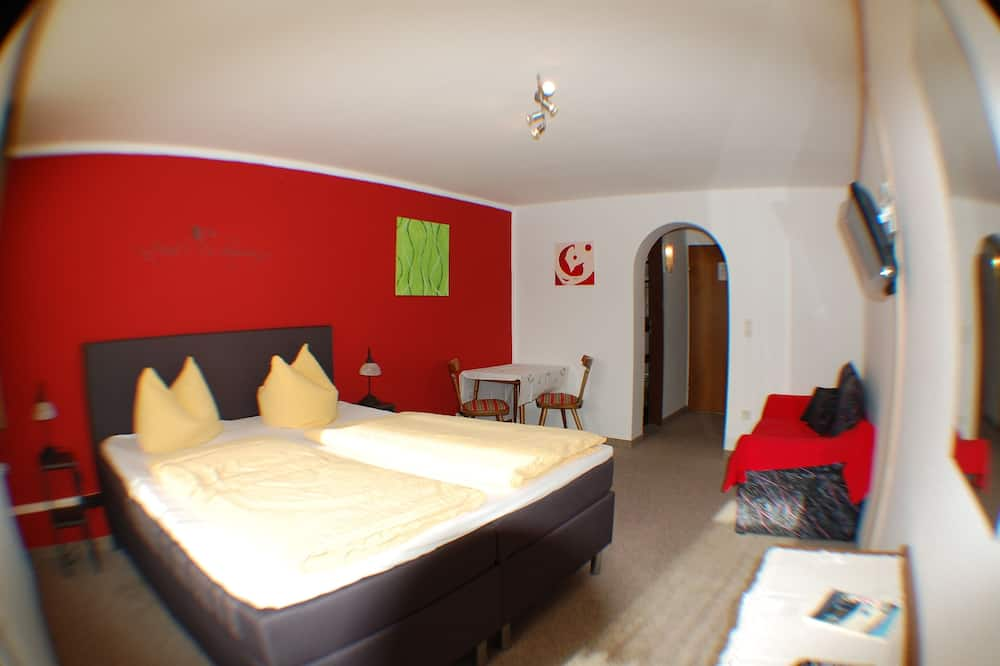 Standard Double Room, 1 Bedroom, Mountain View, Mountainside - Living Area