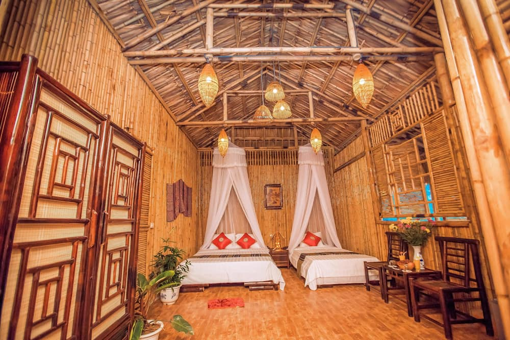 Family Bungalow (Mountain View and Rice Fields) - Living Area