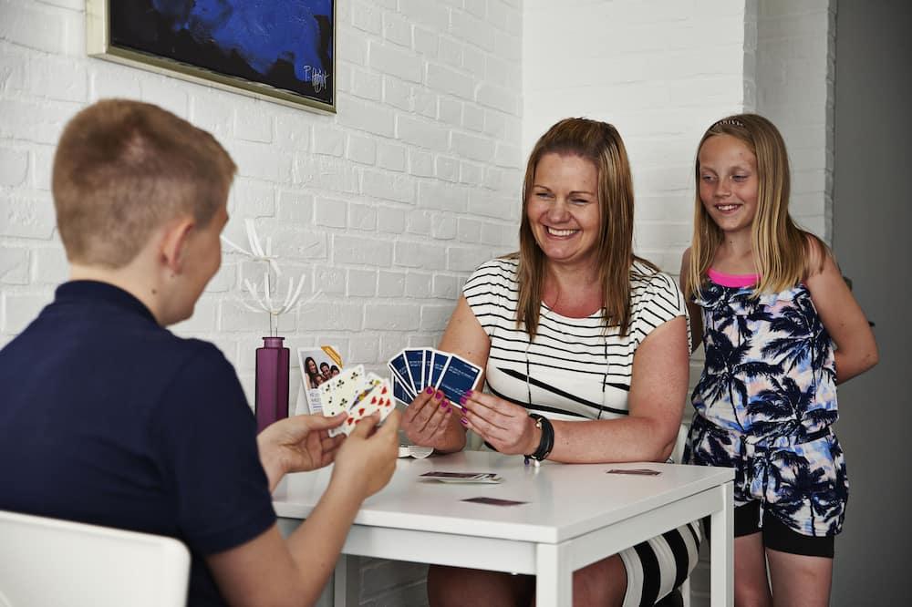 Habitación triple familiar (Linen Excluded) - Zona de estar