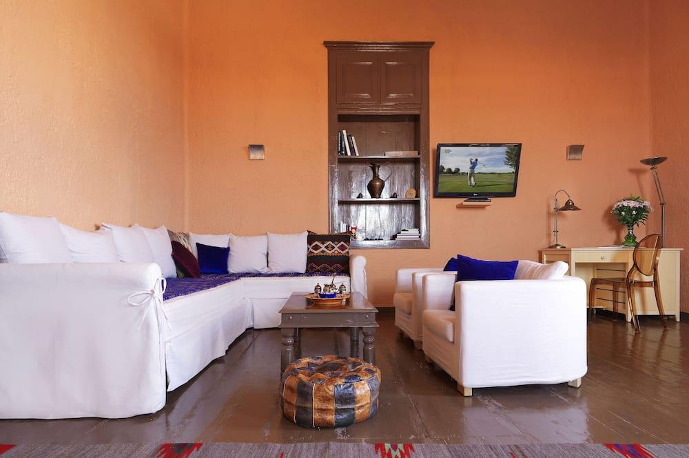 Superior Double Room, Terrace ( 2nd floor) - Living Room