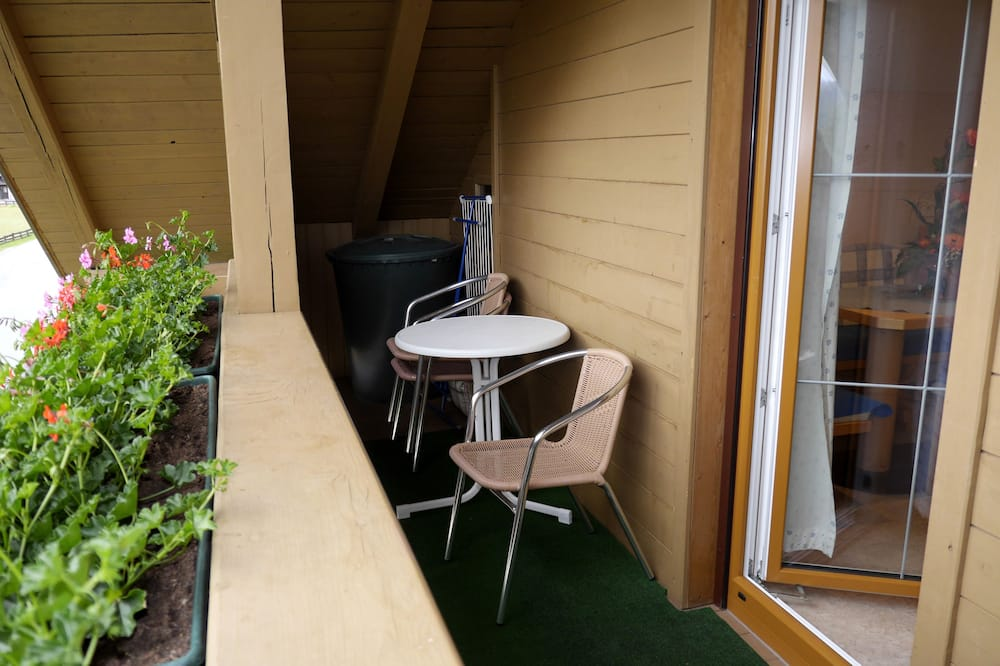 Апартаменты, 1 спальня (Nr. 5) - Балкон