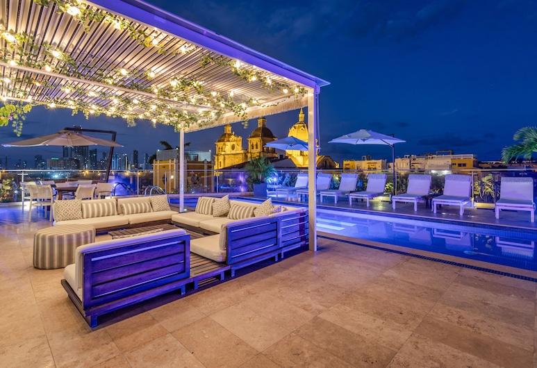 Sophia Hotel, Cartagena, Bazén na střeše