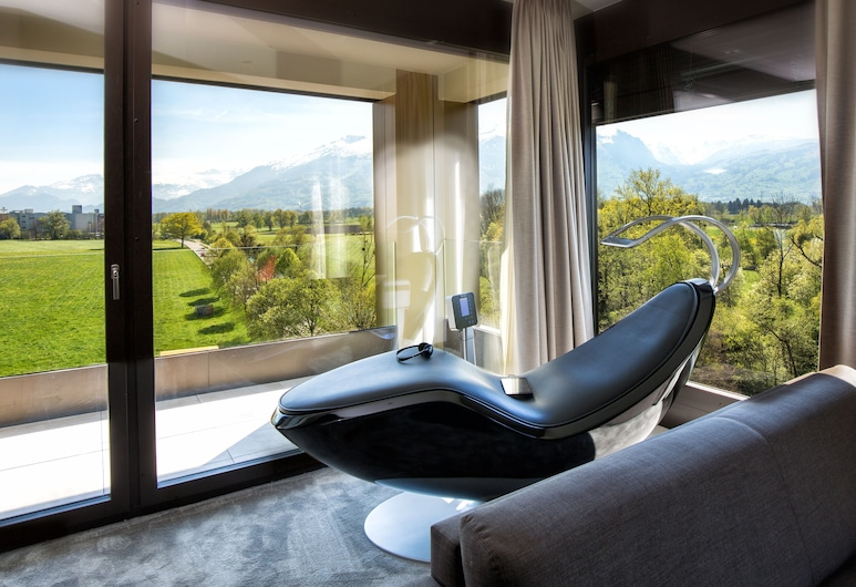 b_smart hotel Bendern, Gamprin, ห้องสวีท, พื้นที่นั่งเล่น