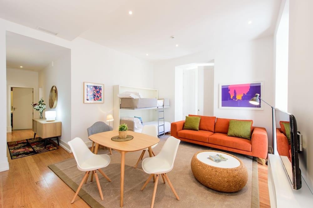 Apartment, 1 Bedroom (2 Adults + 2 Children) - Living Area
