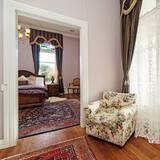 Luxury Σουίτα, 1 King Κρεβάτι (Wisteria Verandah Suite) - Καθιστικό