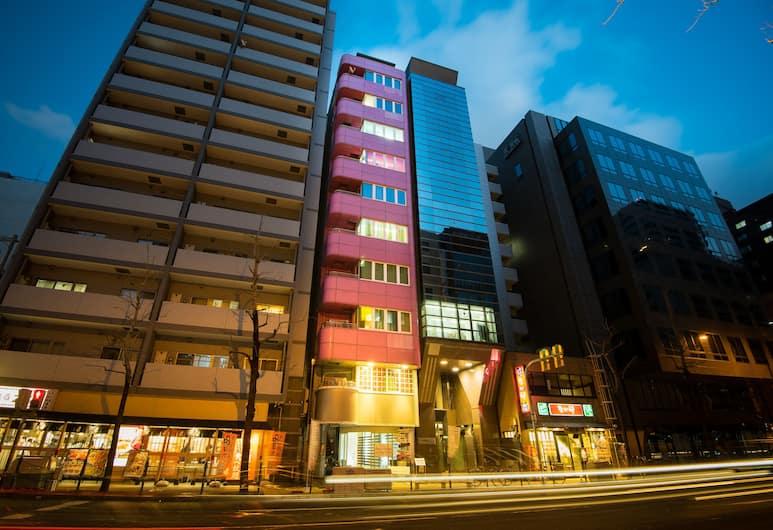 船場ホステル, 大阪市, 外装