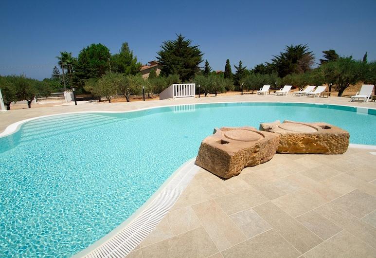 Casale la Macina Hotel & Residence, Castellammare del Golfo, Välibassein