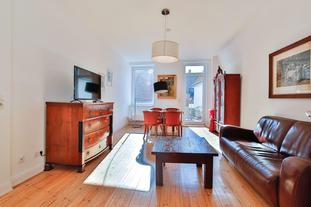 Lägenhet - 2 sovrum (Antoinette - An der Untertrave 50) - Vardagsrum