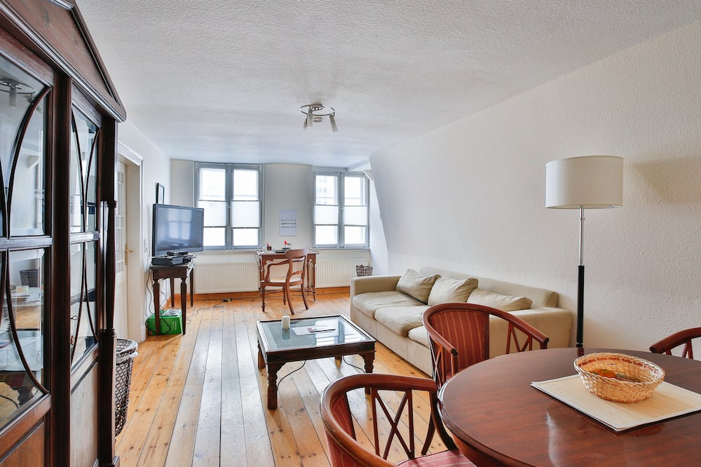 Lägenhet - 1 sovrum (Friederike - Fleischhauerstraße 36) - Vardagsrum