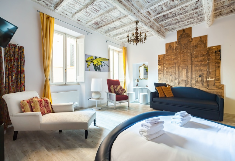 Babuccio Art Suites, Rome, Triple Room, Guest Room